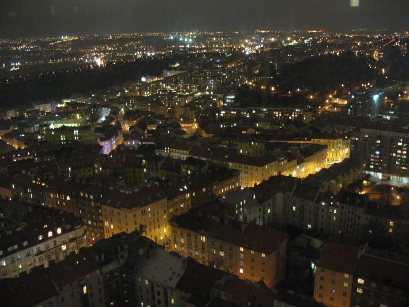 Прага ночью-2